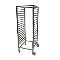 Gastronorm Trolleys & Food Racks | Shelf Trolleys