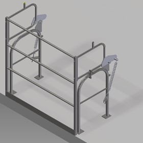 Pallet Safety Gates | High Level Mezzanine Safety Barrier Gate