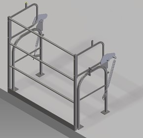 Pallet Safety Gate | High Level Mezzanine Safety Barrier Gate