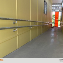 Disability handrails comply with Australian Standards from May 2011