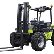 4WD Petrol Rough Terrain Forklift | Agria | Forklifts