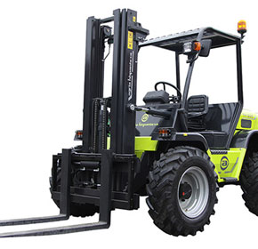 4WD Petrol Rough Terrain Forklift | Agria