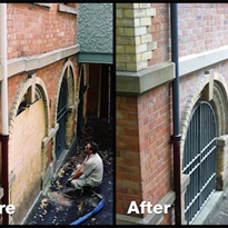 Resin injection re-supports heritage buildings