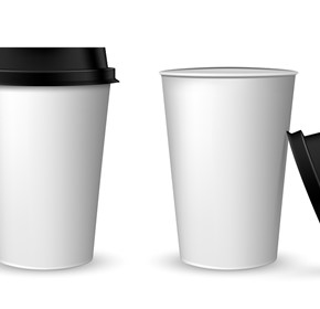 Disposable Cup & Lid