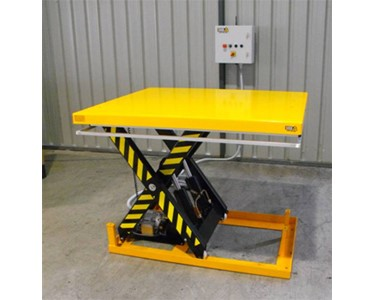 Optimum Handling Solutions Remote Controlled Electric Scissor Lift Table