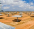 The Gemasolar solar thermal plant in Andalusia stretches over an area of 185 hectares.