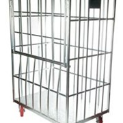 Laundry Cage | Drop Down Gate