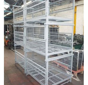 Stillage | Mesh Sided | Half Drop Gate