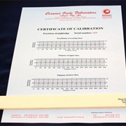 Ceramic Rulers & Straightedges