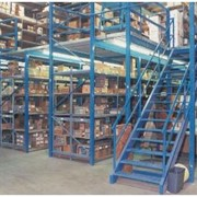 Mezzanine Racking | Supported