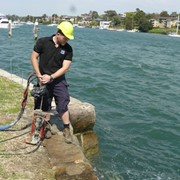 Sydney seawall restored by Uretek resin injection