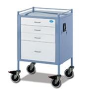 Anaesthetic Trolley - 4 Drawer