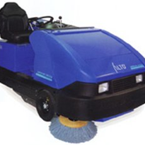 Narrow Aisle Rider Sweeper - ALTO American-Lincoln 6150