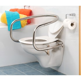 Toilet Support Rail - Wraparound