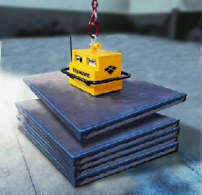 Battery-Powered Lifting Magnet