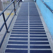 Safe Grip Anti Slip Strips solves slippery ramp issue