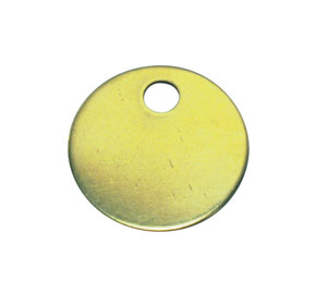 Brass Tags - Panduit MTB1D-Q