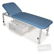 Adjustable Height Metal Examination Table Plinths | Healthtec
