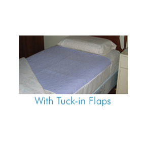 Incontinence Bedpads with Tuck-in Flaps | Allertex