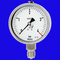 Mechanical Pressure Gauge with Overload Indicator