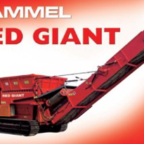 Industrial Shredder - HAMMEL Red Giant Type VB 950 DK