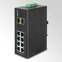 8-Port Industrial Gigabit Ethernet Switch - PLANET IGS-802T