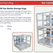 Gas Bottle Storage Cages - FORKLIFT and Crane Series