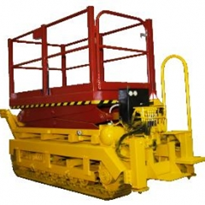Drilling rig scissor lifts table