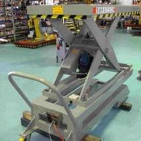 Customised scissor lifts for smelting operation