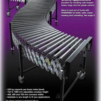 Flexible Roller Conveyors – Gravity ROLL Series