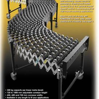 Flexible Skate-Wheel Conveyors – Gravity WHEEL Series