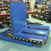 Metal fabricator handles steel coils with tilter