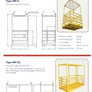 Work Platform Cages – CRANE Lifting Series