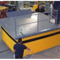 Custom 6 tonne dock lift for department stores
