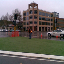 Grass Infills for Roundabouts