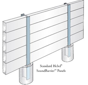 Acoustic Barrier for Commercial & Industrial - Hebel® SoundBarrier™