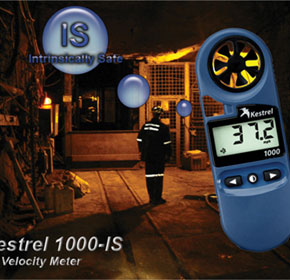 Intrinsically Safe Air Velocity Meter | Kestrel 1000-IS