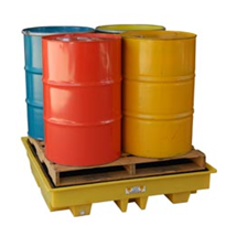 Bunded Spill Pallets For Drums & IBC