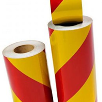 Reflective Tape - D82 Yellow/Red
