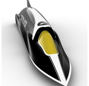 SolidWorks used for JetBlack World Land Speed record attempt