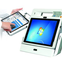 "LCD Panel PC | 10.4"" Mobile Clinic Assistant - ICEFIRE"