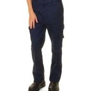 Ladies Cotton Drill Cargo Pants