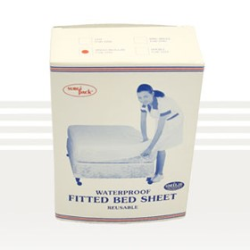 Incontinent Bed Sheets | 2710 Economy Vinyl Fitted Sheet