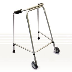 Walking Frames with Wheels