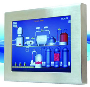 Stainless Steel Industrial Display Monitors - Aplex ADP-1153/ADP-1193