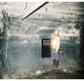 Mine Safety | Fleity Flexible Stoppings