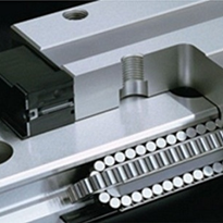 "Mazak ""MX"" Hybrid Roller Guide technology"