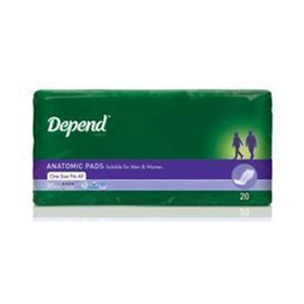 Anatomic Incontinence Pads | DEPEND - Super Pls 19970