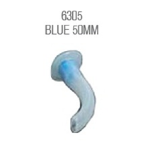 Airway Guedel | Adult Size 5 (Blue 50mm)