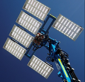 LED lighting towers: sustainable benefits, financial sense